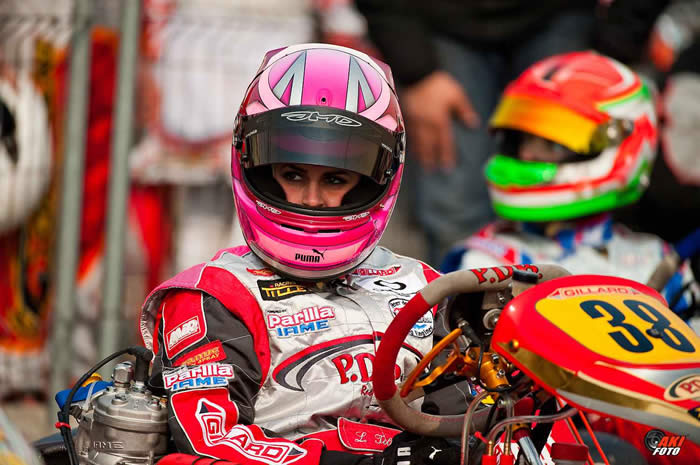 150 drivers in KF2 and Laura finishes 18th in the repecharge of the 14th Winter Cup