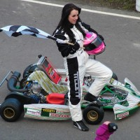 Photo shoot at Buckmore Park kart circuit 02