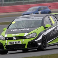 Laura's Debut in the VW Saloon car