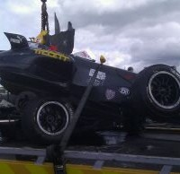 The much anticipated Thruxton track proved to be a disaster for Laura this weekend